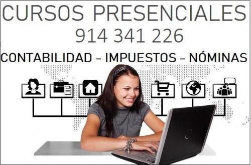 CURSO CONTABILIDAD PRESENCIAL EN MADRID.- 11 ENERO 2021
