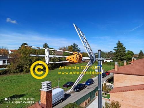 Reparacion de antenas algete - Antenista