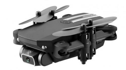 Mini Drone 4K 1080P HD Cámara WiFi Fpv presión de aire mantenimiento de altitud negro y gris plegabl