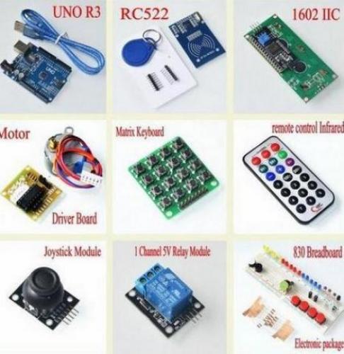 RFID Kit de iniciación para Arduino UNO R3 versión mejorada de aprendizaje